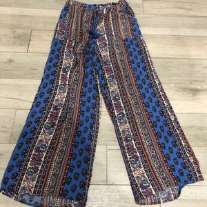 BAND OF GYPSIES: Wide leg pants
